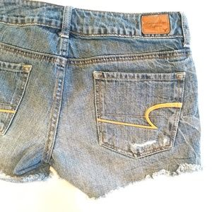 American Eagle Outfitters Shorts - American Eagle Distressed Denim Shorts Size 4